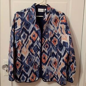Alfred Dunner Jacket Size 14